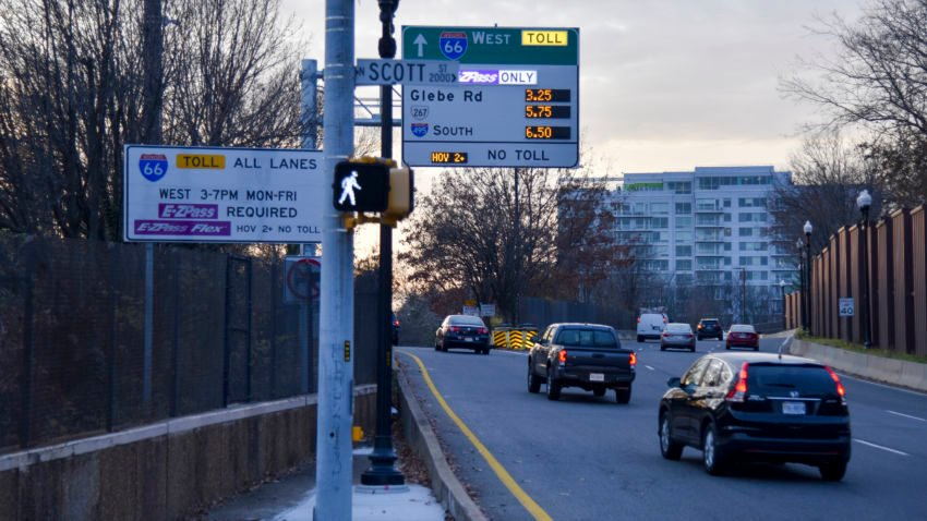 A $40 toll to drive 10 Miles? It happened on Virginia's I-66