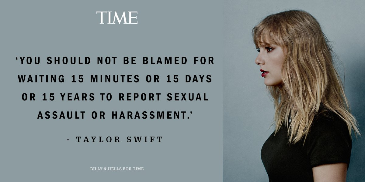 'I was angry.' @taylorswift13 on what powered her sexual assault testimony #TIMEPOY https://t.co/MYHHwtRocJ https://t.co/TQ3jnTpACD