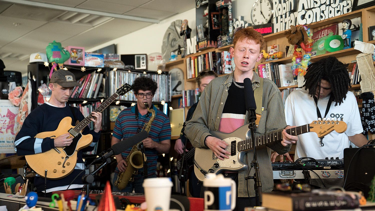 Watch King Krule's Tiny Desk Concert. https://t.co/dmLhbzIrAV https://t.co/YVWXTbvqGa