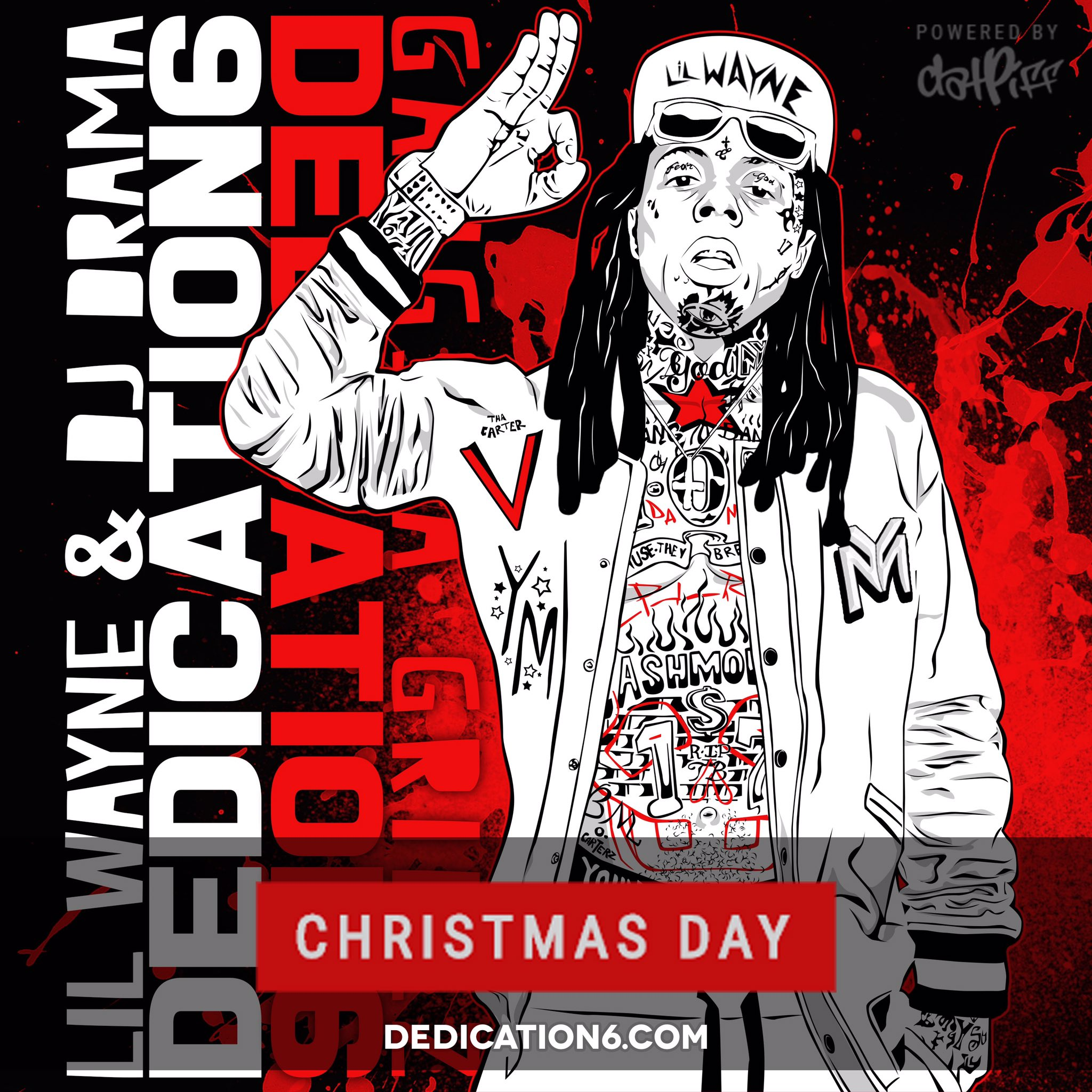 It's time! Sign up for updates and music before drop date! To My fans, I do this for y'all! #D6 MERRY CHRISTMAS https://t.co/G2OccnC66f