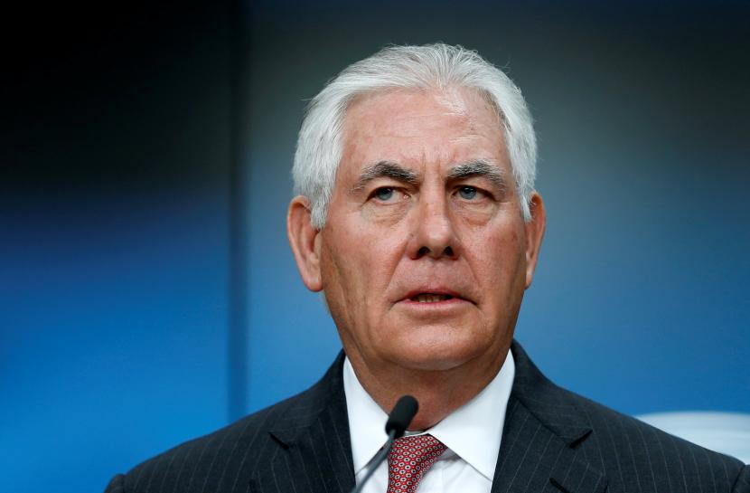 Tillerson takes tough line on Russia, open to peacekeepers