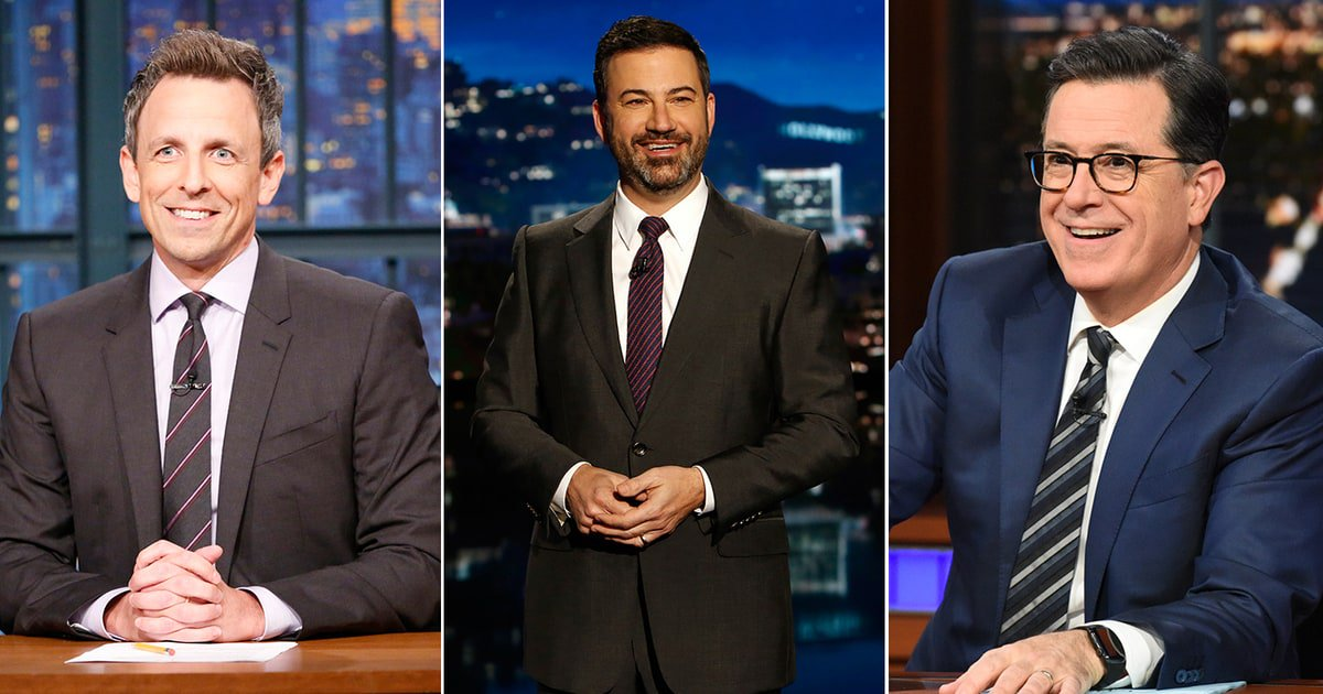 How 2017 turned late-night TV into the frontline for political accountability https://t.co/E1YqfelrUI https://t.co/IXl4eI3Xn4