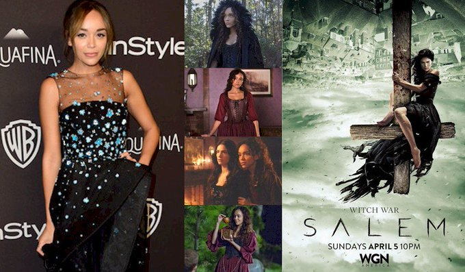 Hoy cumple 34 años  Ashley Madekwe (Tituba en Happy Birthday