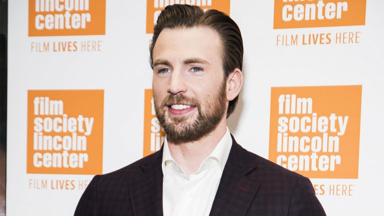 .@ChrisEvans jokes a Disney-Fox deal could bring a Captain America-Human Torch crossover