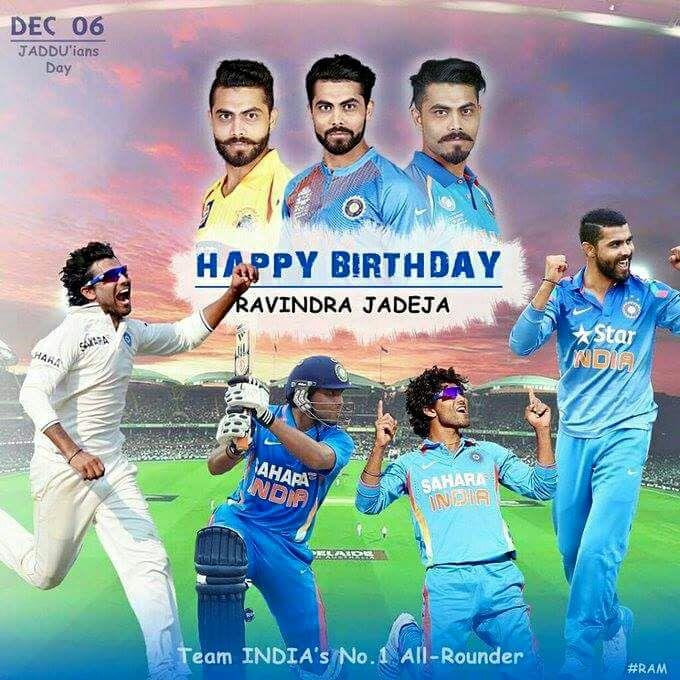 Happy Birthday sir Ravindra jadeja