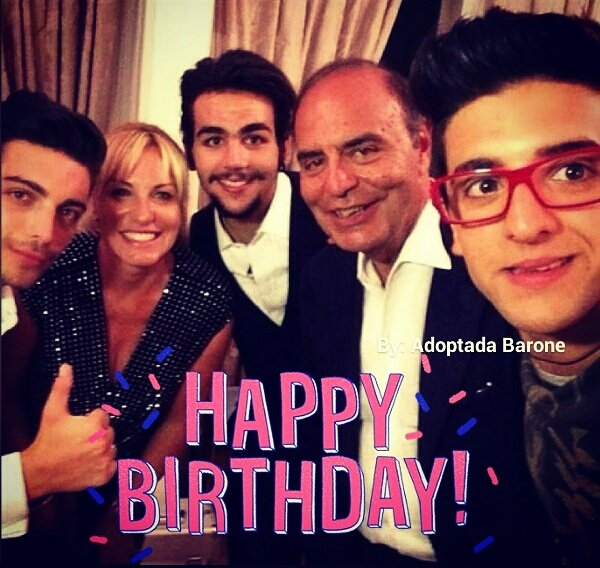 Happy Birthday, dear Antonella Clerici!!!   blessings to you, bravissima!!!