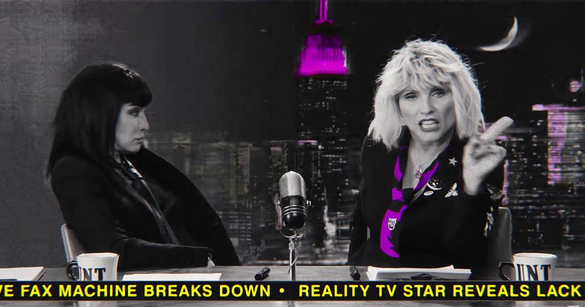 See Joan Jett in Blondie's apocalyptic video for 'Doom or Destiny' https://t.co/2sHPMEzE2K https://t.co/xiYYO5H1hx