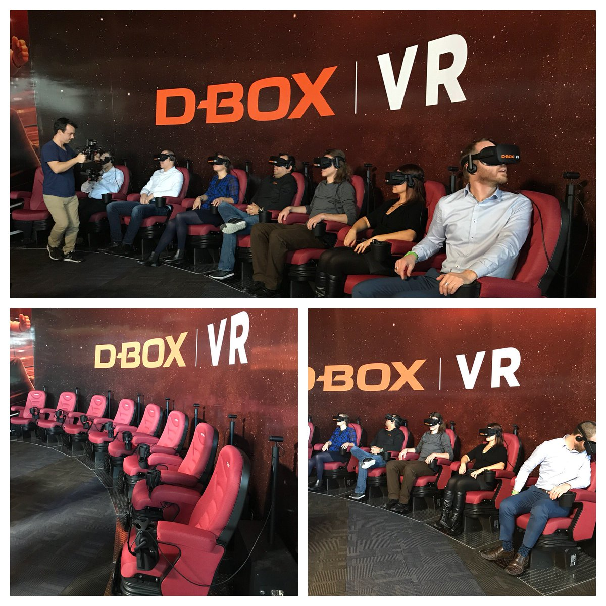 test Twitter Media - RT @dboxtech: D-BOX VR is opening today, must try Raising a Rukus created by @VRcompany presented @CineplexMovies https://t.co/uJYTYuvW21