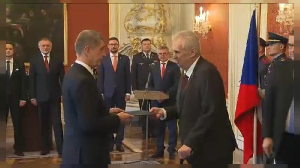 Andrej Babis sworn in as Czech PM