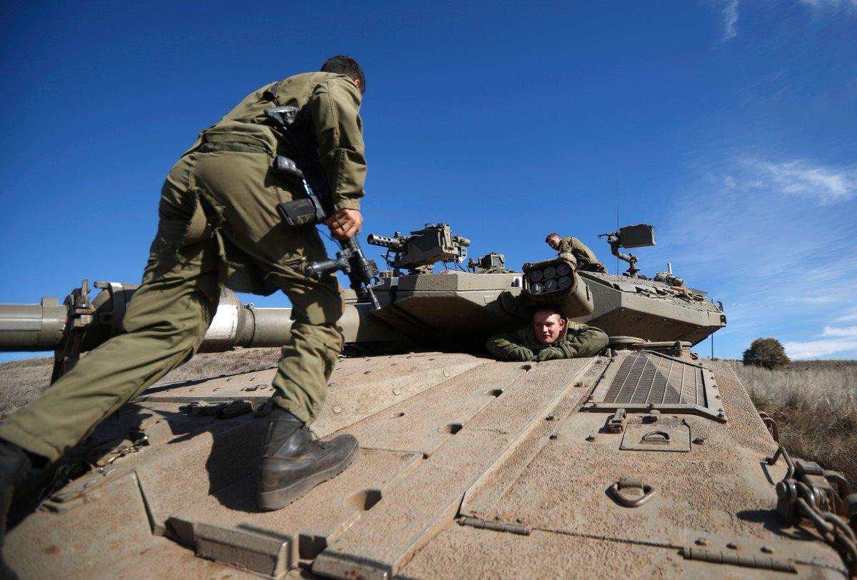 Israel holds massive surprise military drill ahead of Trump's Jerusalem speech