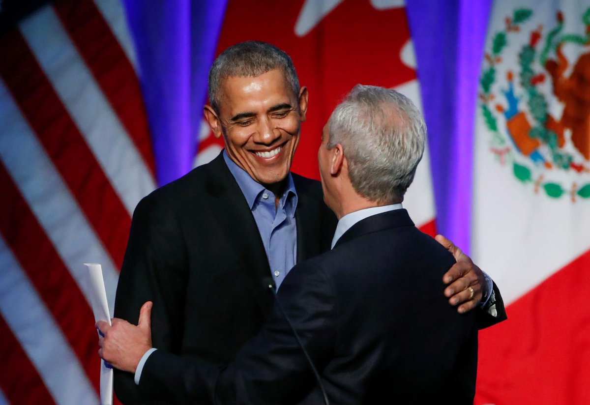 Barack Obama pats himself on the back for American economy's success