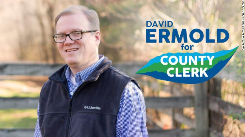 David Ermold was twice denied a marriage license by Kim Davis. Now he's running against her. https://t.co/AWqVrSd03r https://t.co/rQ21mFzdlk