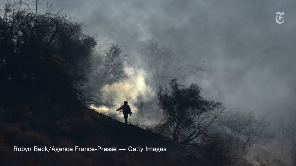 The latest updates on the fires in California https://t.co/RHg3DuSgPy https://t.co/Xv7az4m0nH