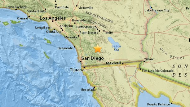breakingweather earthquake san diego