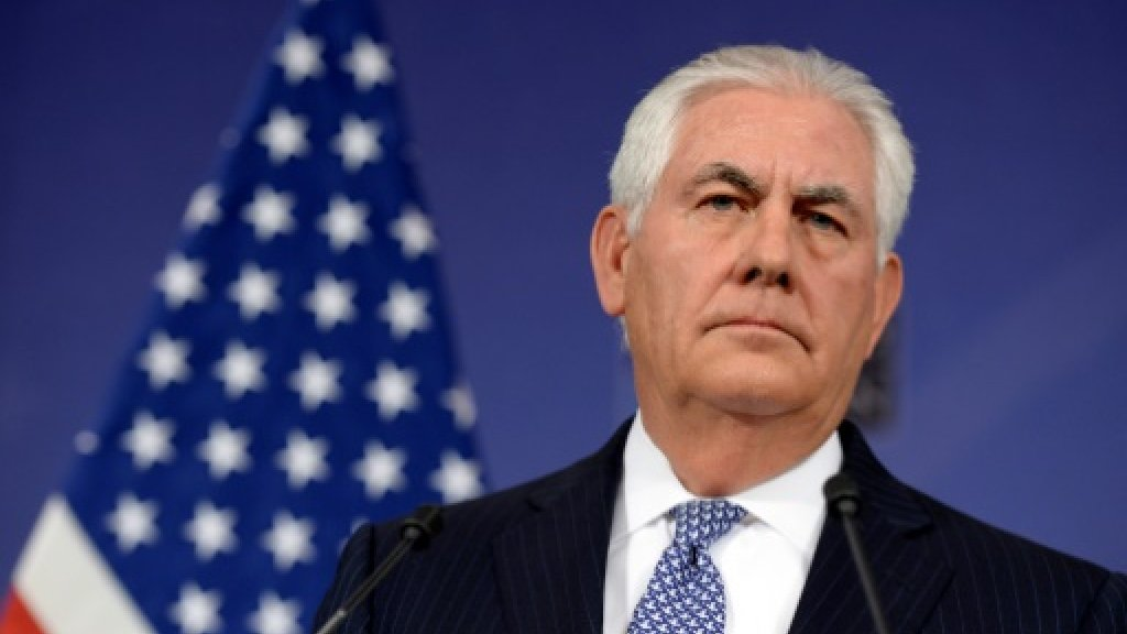At NATO, angry Tillerson denies quit rumours