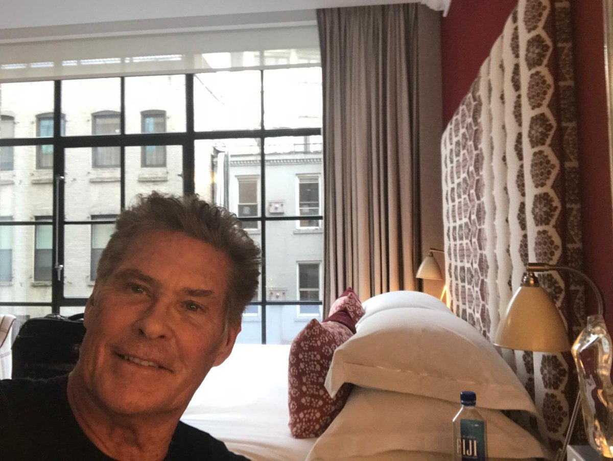 Loving it here @Firmdale_Hotels Crosby Street Hotel is dope! That means great! David Hasselhoff https://t.co/m9s3ORDpmZ