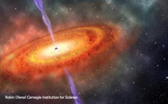 Oldest supermassive black hole found from universe's infancy https://t.co/nmHQVB0uky https://t.co/PIKlHu67Xi