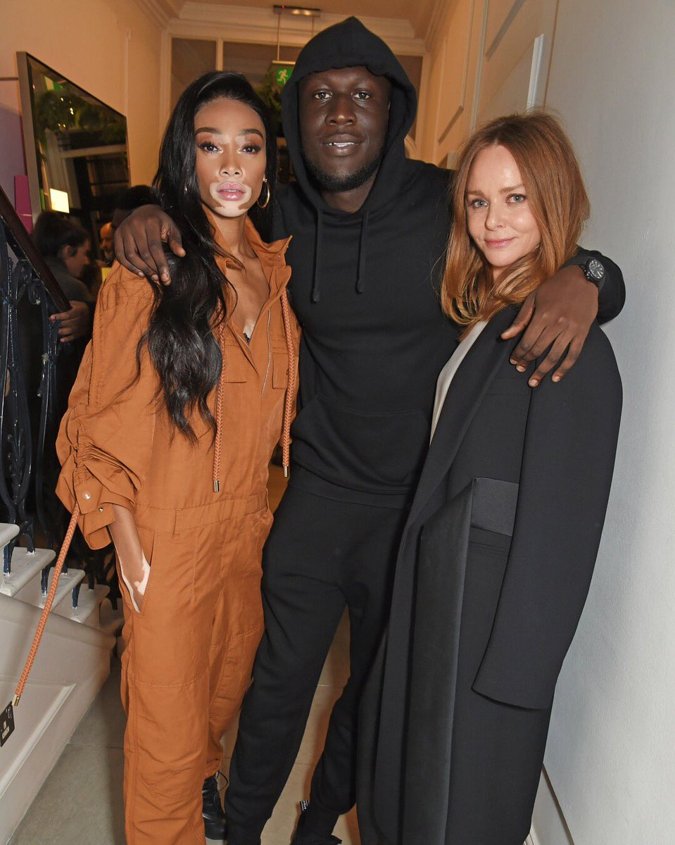 Joining Stella at tonight's annual #StellaHoliday lights switch-on in London - @WinnieHarlow and @Stormzy1! https://t.co/wHAORblT8Z