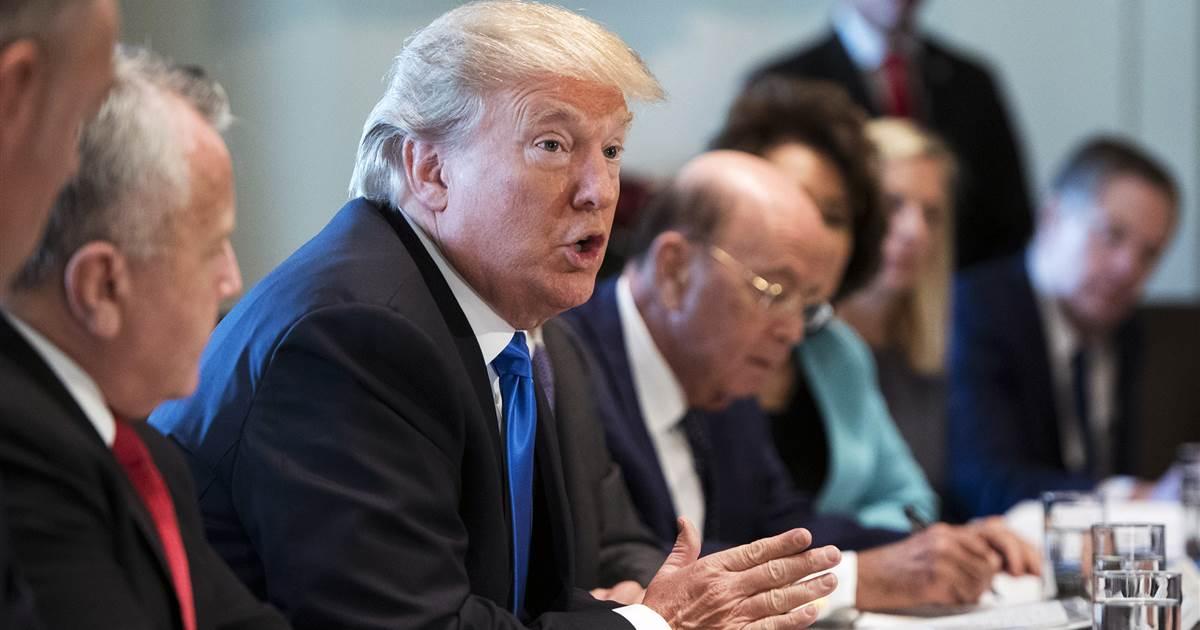President Trump threatens government shutdown, blames Democrats