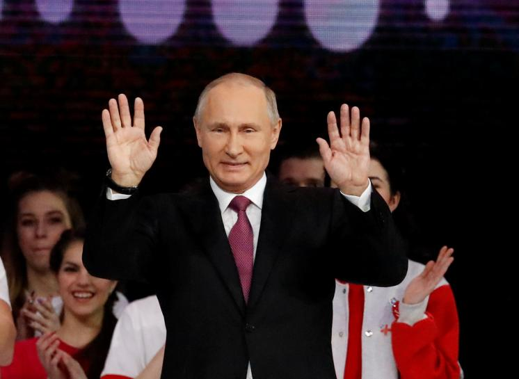 Russia's Olympic ban strengthens Putin's re-election hand