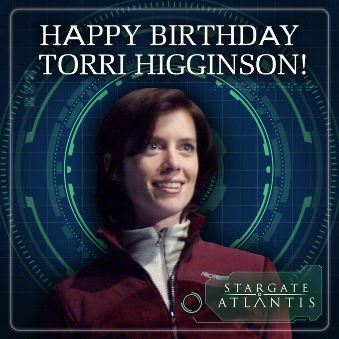 Happy birthday Torri Higginson!