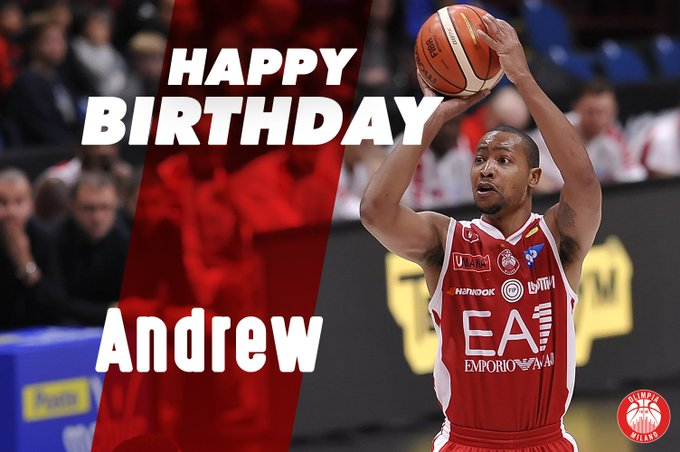 Happy Birthday Andrew Goudelock!