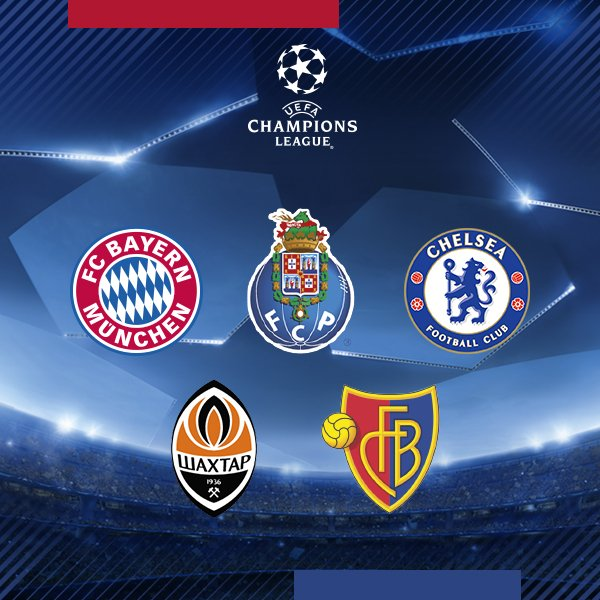 �� Our possible opponents in the last 16 of the #UCL. Which do you prefer? https://t.co/fI81yqljGy