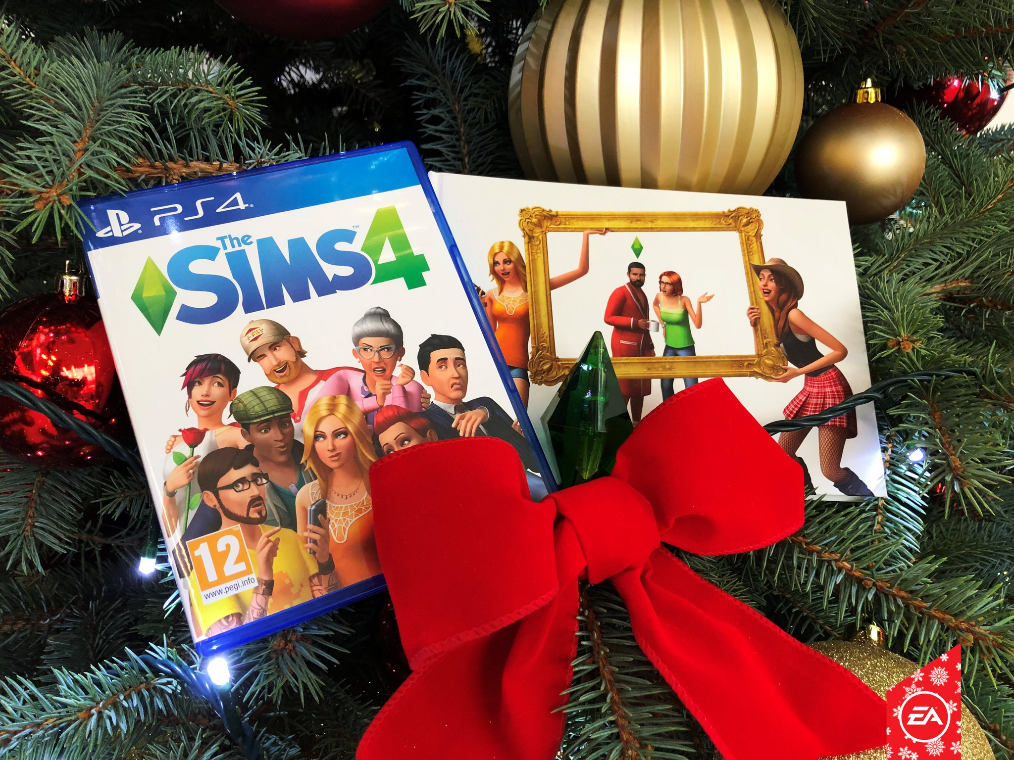 RT for the chance to win! It's Day 4 of our #EAUK12Days �� Share for the chance to win a #TheSims 4 Swag Pack ���������� https://t.co/puJeQL047t