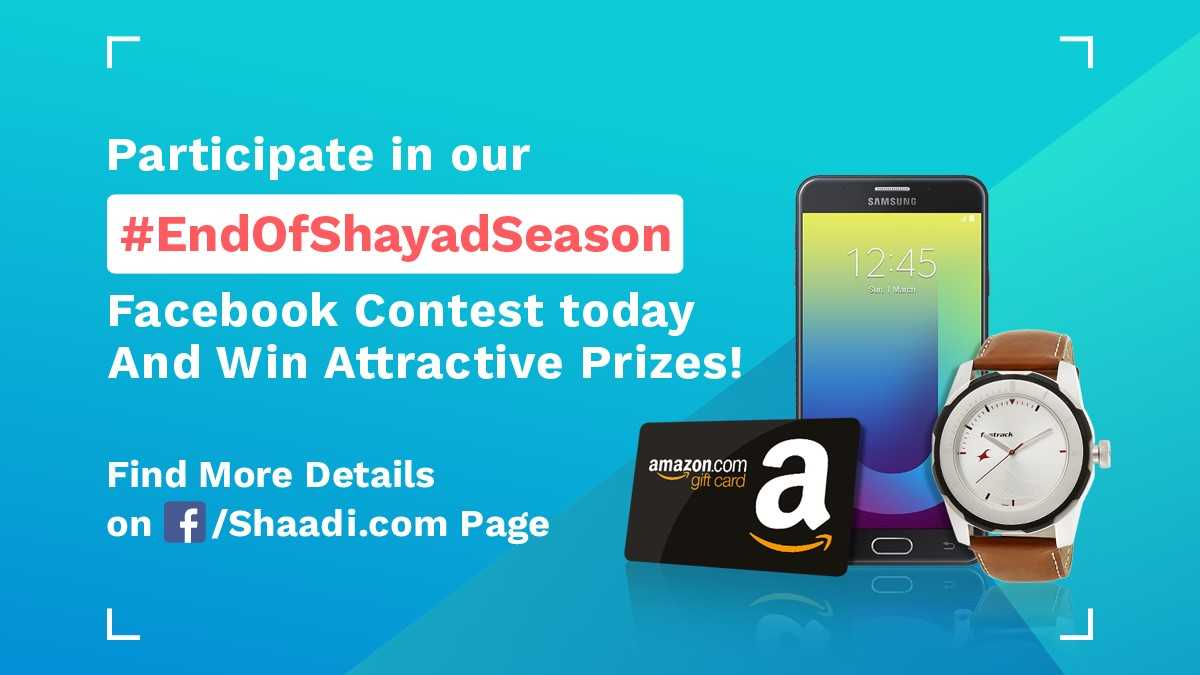 test Twitter Media - Join us in our #EndOfShayadSeason contest today on #Facebook between 11AM-5PM. Participate & get a chance to win exciting gifts!!   #ContestAlert #ContestIndia https://t.co/vXuV4CRSaZ