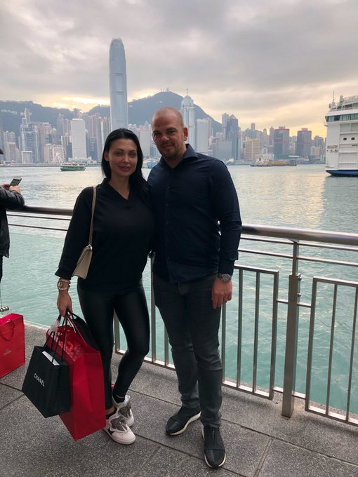 With my love in Hong Kong. https://t.co/xXpPgZ0wqL
