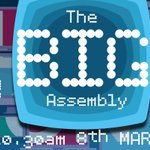 RT @BigAssembly: Save the date! Join us for the second year of the Big Assembly on the 8th March. https://t.co/8rllDvldRG
