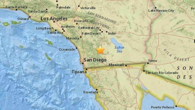 Breaking911 earthquake san diego