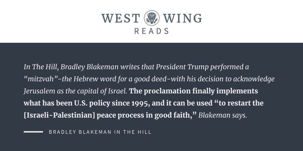 What the West Wing staff is reading: https://t.co/xHztzZF9F5 https://t.co/aJ1oRvrx5f