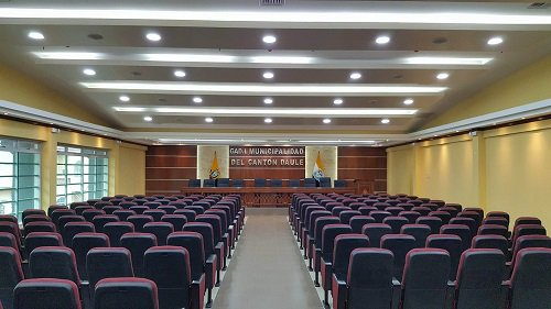Nuevo y moderno Auditorio Municipal 'Pedro Salazar Barzola' en #Daule @AlcaldiaDaule https://t.co/o93pzjlAlf https://t.co/YGUVHuOcA3
