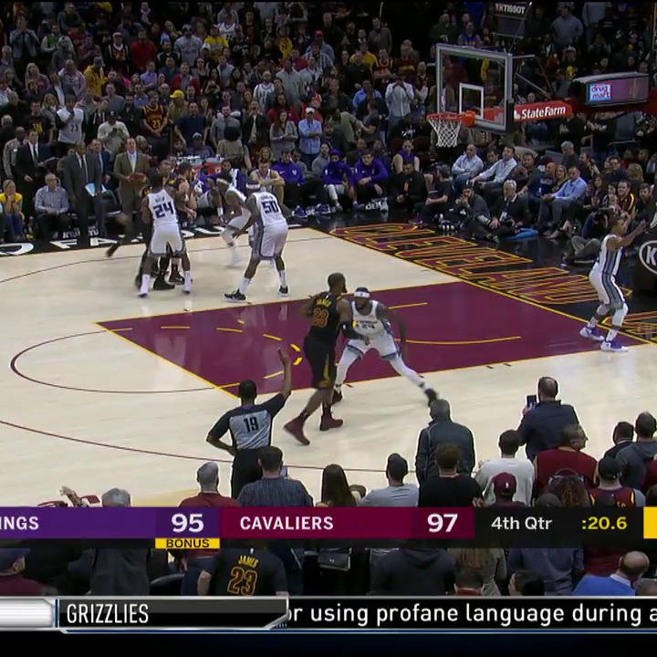 .@KingJames with the clutch step back in #CrunchTime! �� https://t.co/GinFouQCHe