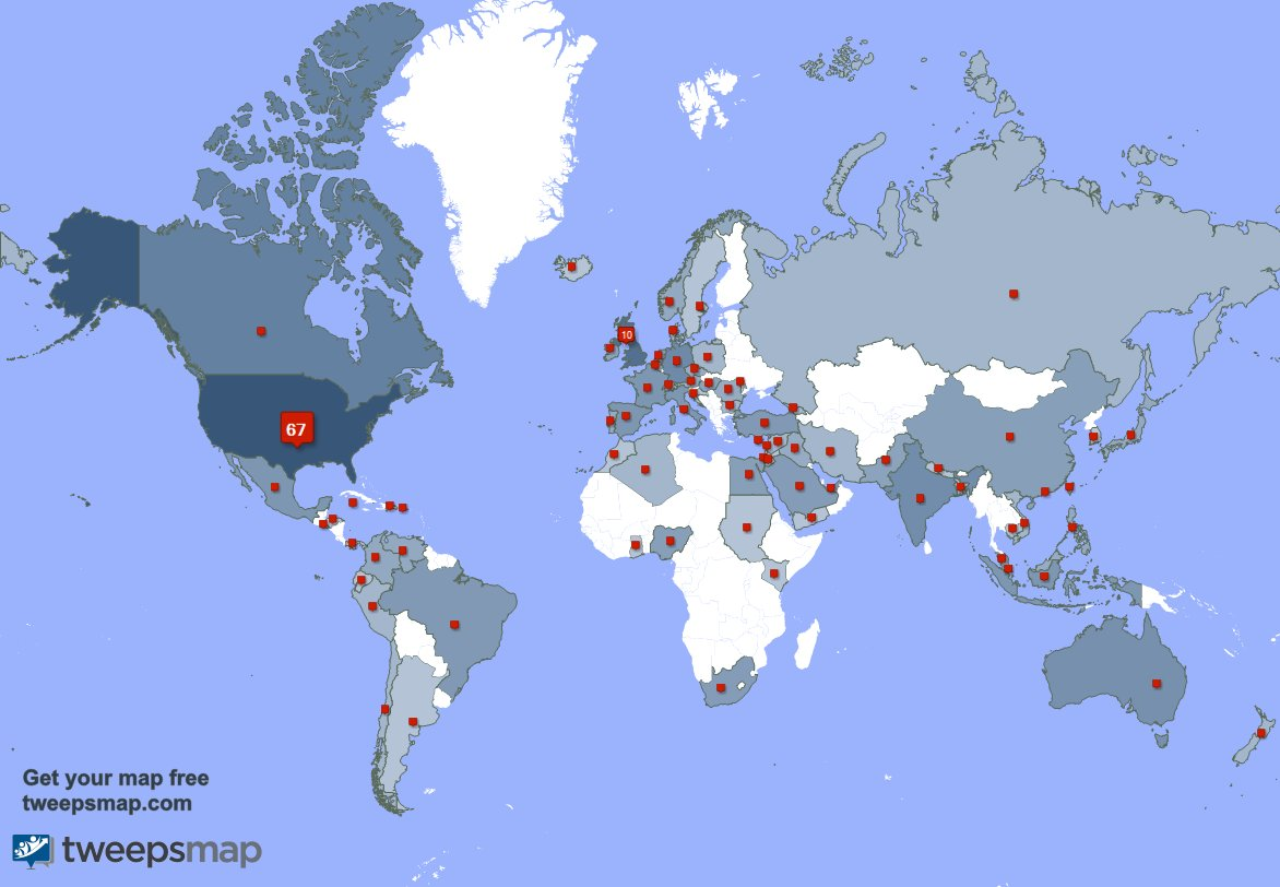 I have 34 new followers from USA, and more last week. See 0RFkYGW5nP A3w3f