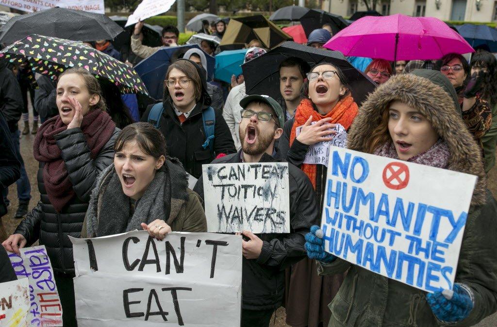 UT-Austin graduate students walk out amid legislative battles