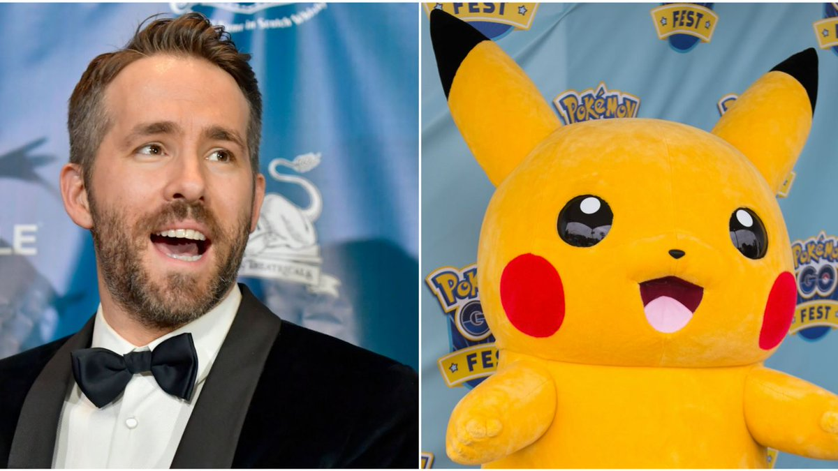 Ryan Reynolds Will Catch 'Em All As Pikachu In New Pokémon Movie