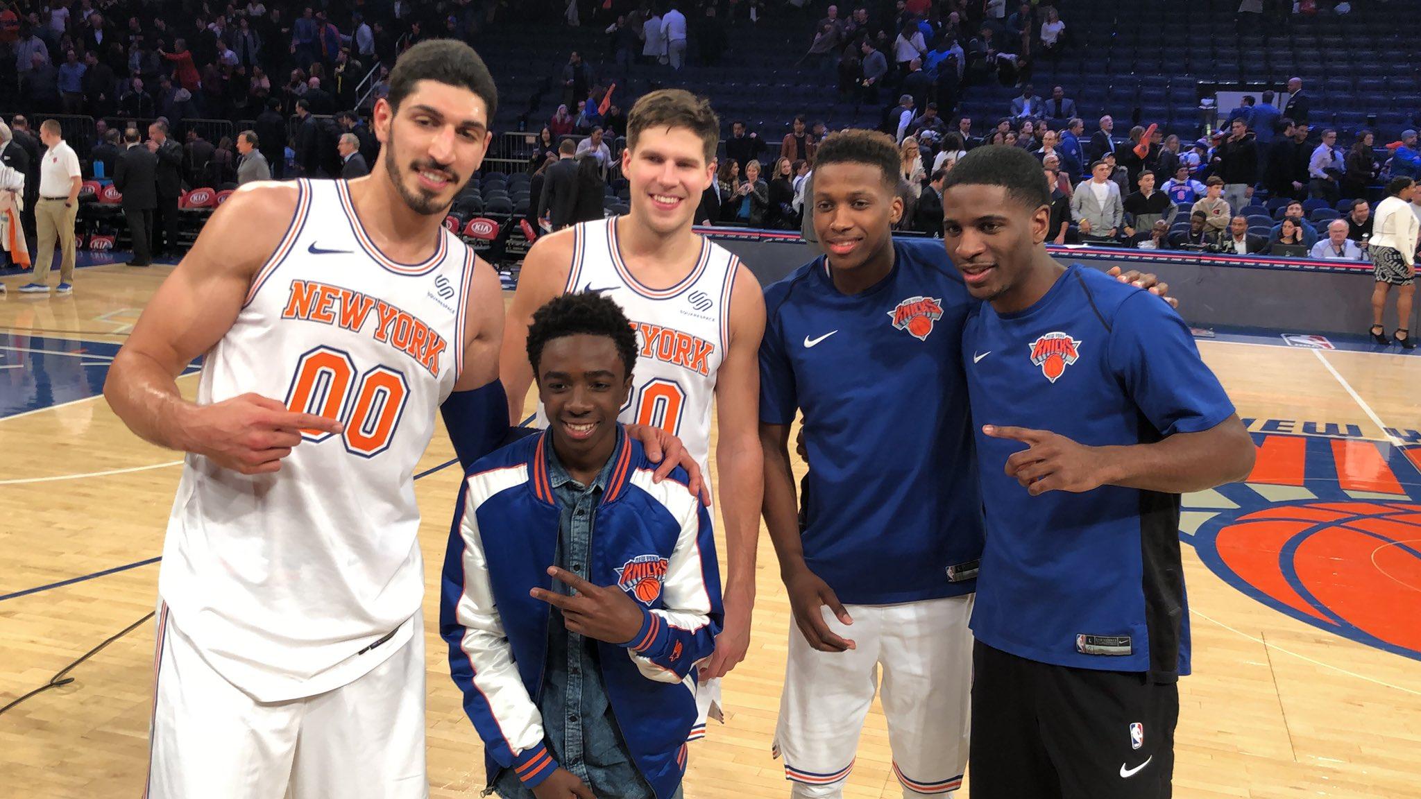#Knicks x @calebmclaughlin! https://t.co/Wwf1ZBoog7