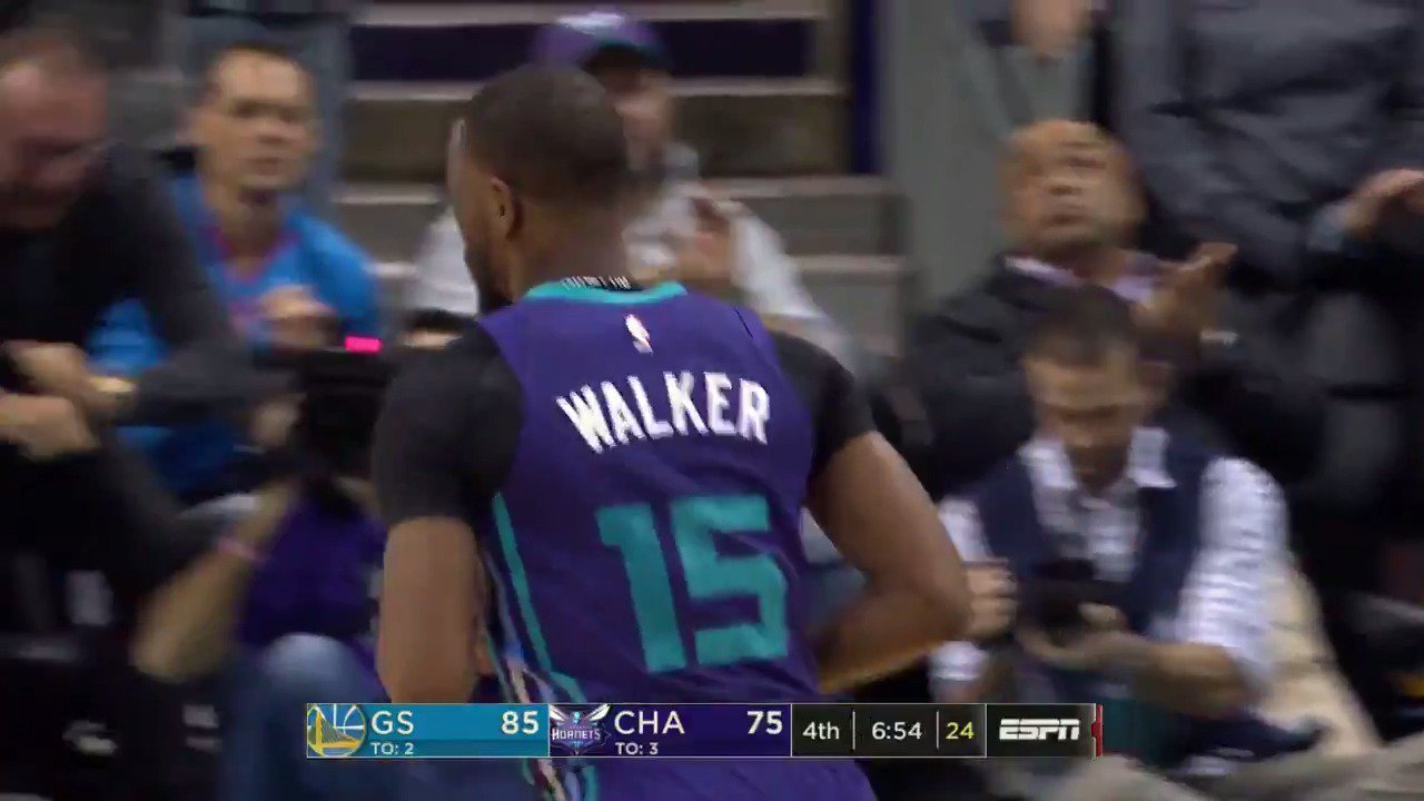 The @hornets have the cut the deficit to single digits on ESPN! #BuzzCity https://t.co/Jcx1aEbEbF