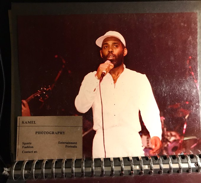 FRANKIE BEVERLY.    Happy Bday.  Salute !