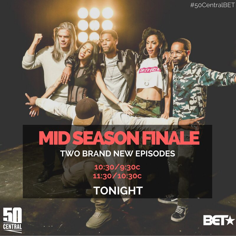 It's Time... Tune in NOW @BET . It's gonna be lit tonight ????????#50CentralBET https://t.co/RzVZqRpopr