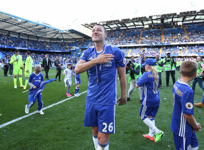 Games: 817  Goals: 74 Trophies: 17  Captain fantastic.   Happy birthday 37th Birthday John Terry!