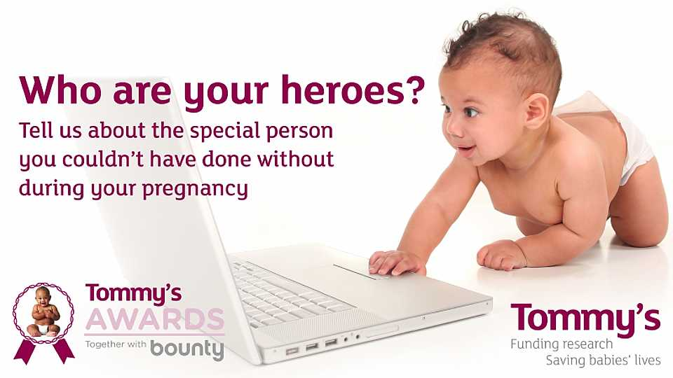 Tommy's Awards 2018: nominate YOUR pregnancy
