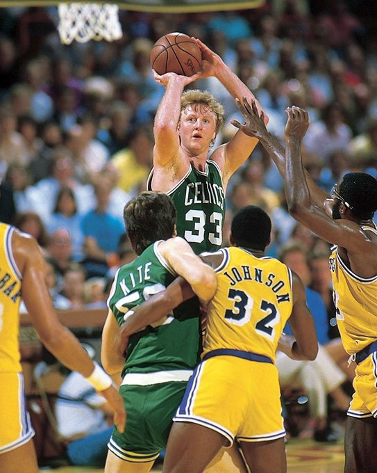 Happy Birthday to Larry Bird, who turns 61 today!