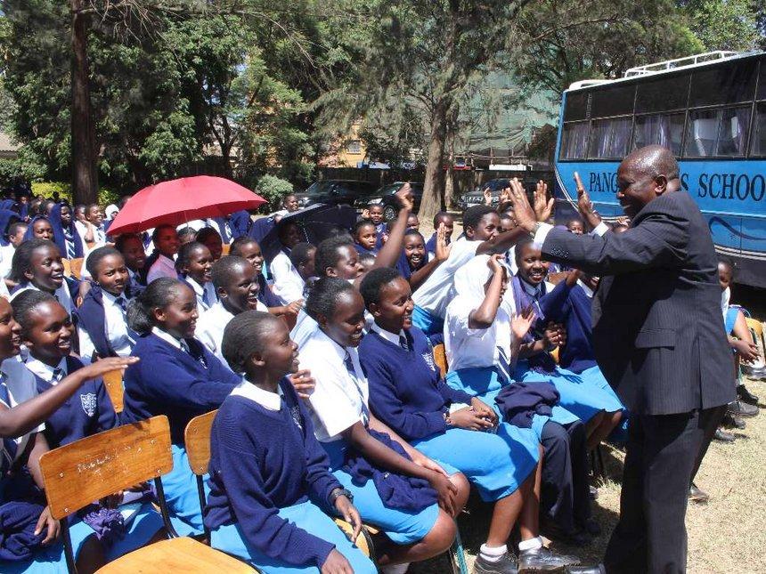 Orphaned Siaya twins celebrate Pangani Girls' dream