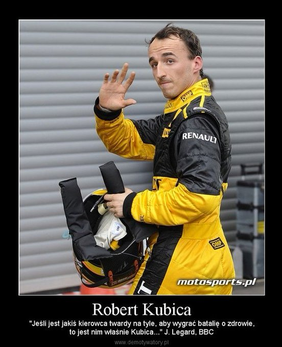 Robert Kubica   7.12.1984 Happy Birthday!