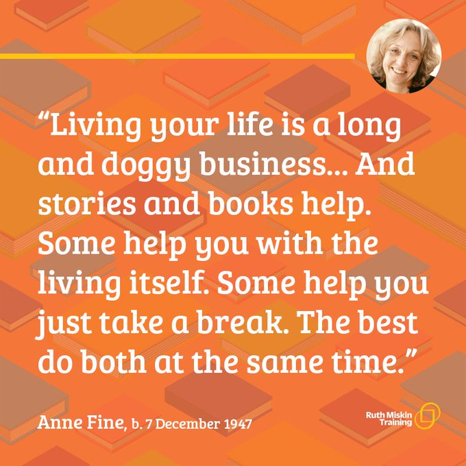 Happy Birthday Anne Fine!
