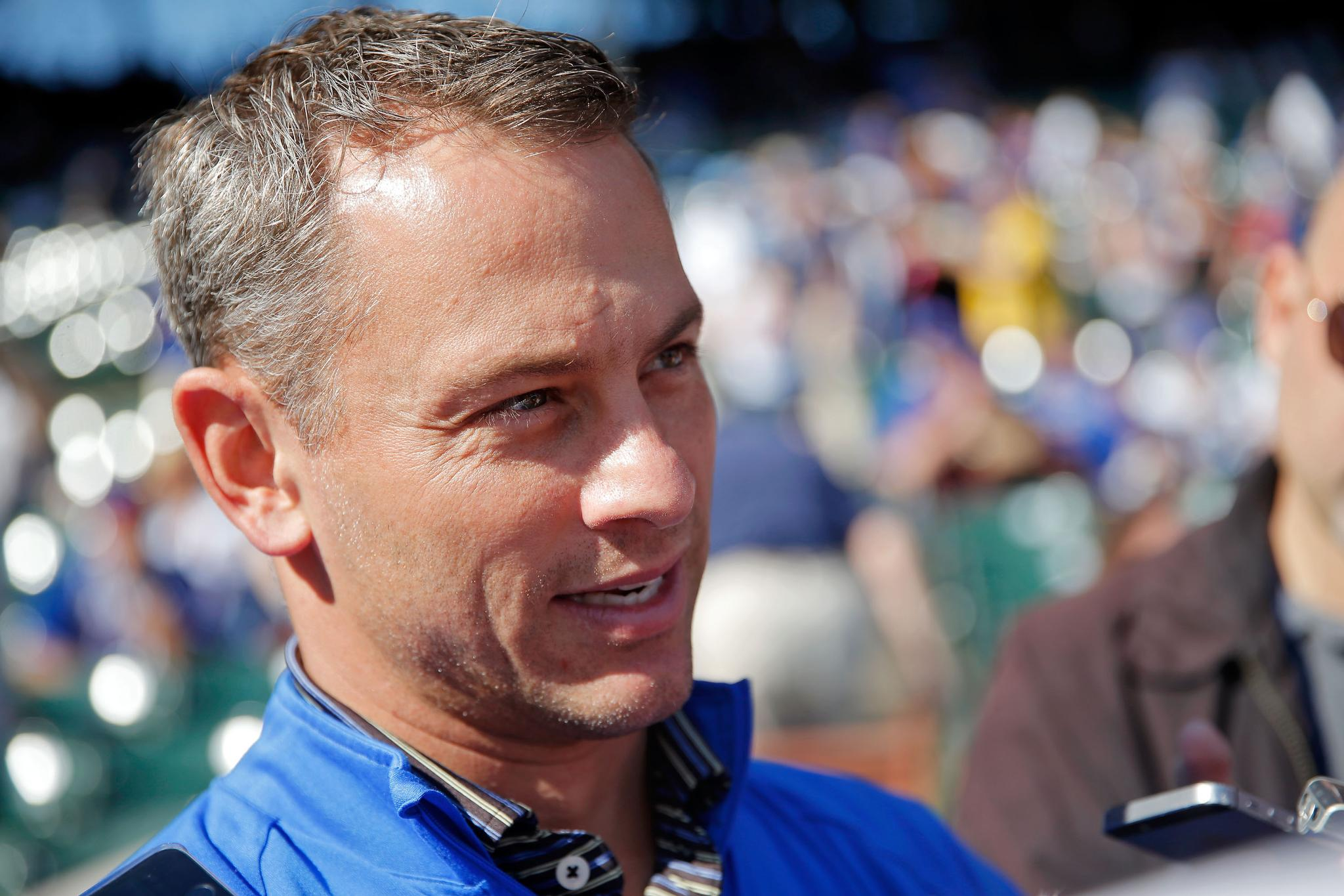 Happy birthday to #Cubs general manager Jed Hoyer! https://t.co/jw346CpyFO