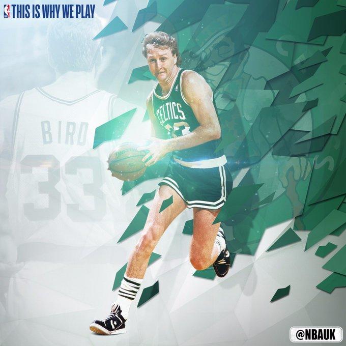 Happy birthday to the legend, Larry Bird!